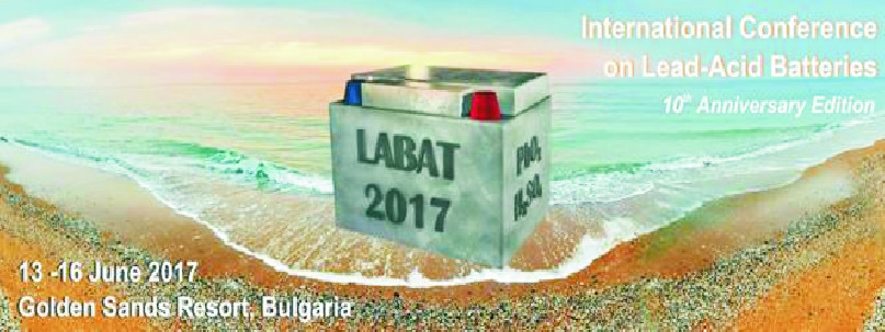 click to enlarge- 10th International Conference on Lead-Acid Batteries - LABAT 2017